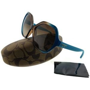 HC8065-513313 Women's Teal Frame Sunglasses